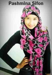 Jilbab Pashmina Sifon Murah