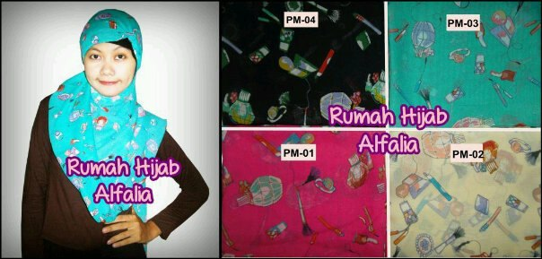 Pashmina Motif Unik Make Up