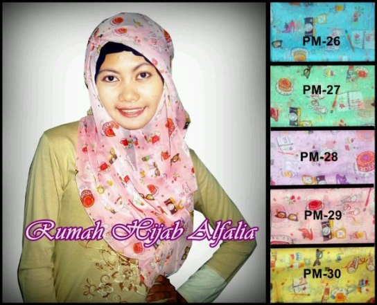 Pashmina Motif Unik Party