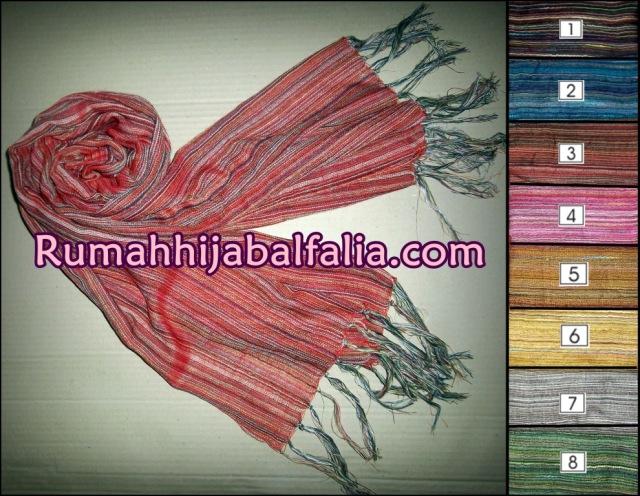 Grosir Jilbab Murah Online Pashmina Serat Kayu