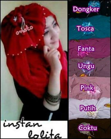 Jilbab Instan Lolita _Model Jilbab Terbaru