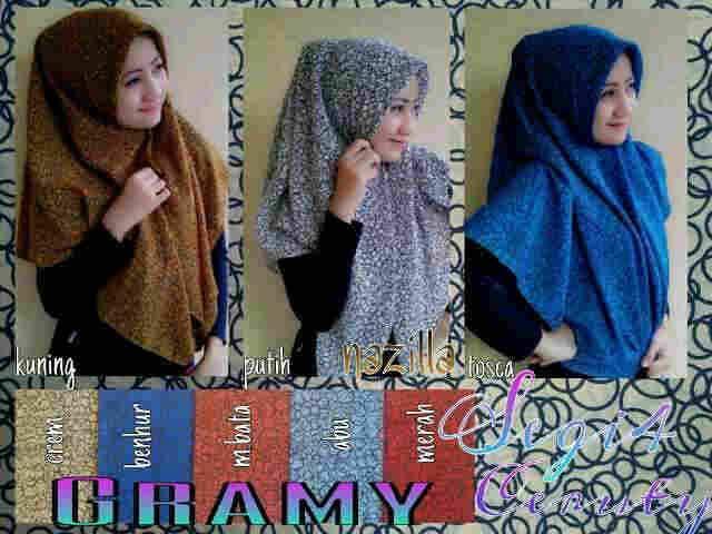 Segi Empat Gramy_Toko Jilbab Modern