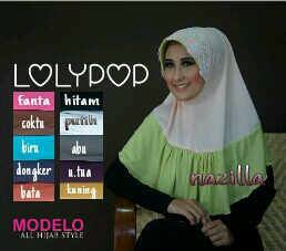 Syiria Lolypop_Jilbab Zahra Collection