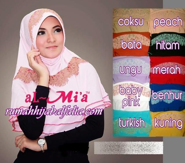 bergo Al-Mi'a grosir jilbab modis surabaya